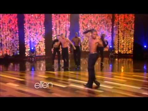 Madonna en Ellen subtitulado (los mejores bailarines)