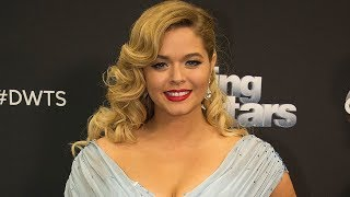 Sasha Pieterse Bummed Over SHOCKING DWTS Elimination & Reveals Weight Loss