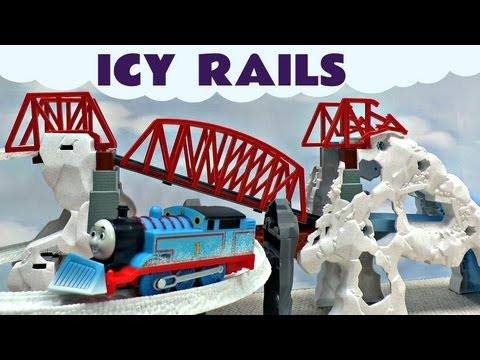 Thomas and Friends Kids Toy Icy Rails Thomas The Tank Engine Snow Bridge Set