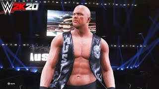 WWE 2K20 : Stone Cold Steve Austin Official Full Entrance