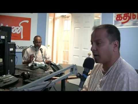 ISKCON Scarborough- Live Tamil Radio Program - Bhagavad Gita 18.78 - concluding Prophesy