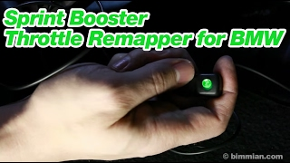 Sprint Booster Throttle Remapper for BMW