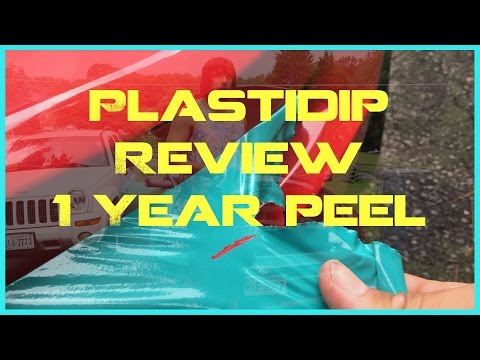Ryan's Plastidip Review & Peeling Plasti Dip 1 Year Later!