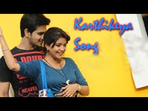 Karthikeya Telugu Movie Songs || Swathi Muthyam Promo Song || Nikhil, Color Swathi video
