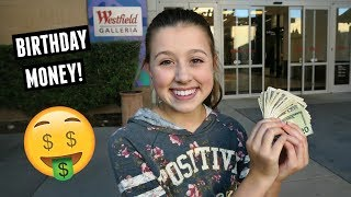 Spending All Her Birthday Money! Shopping Spree