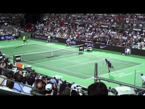 Roger Federer versus Juan Martin Del Potro en Argentina (Tigre)