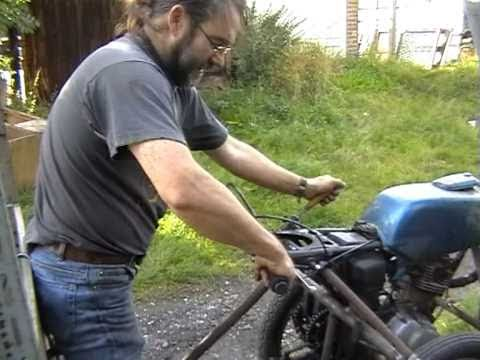 Home made. Two wheel tractor. Walk behind Tractor