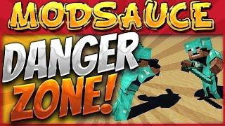 Minecraft Mods - HermitCraft MODSAUCE {EP.30} DANGER ZONE!