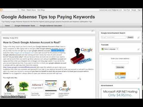 Adsense Account Check Status