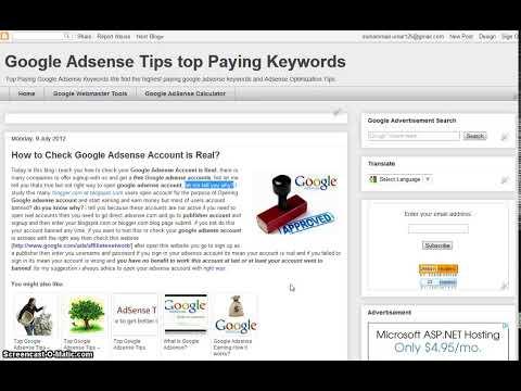 Adsense Account Check Status
