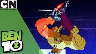 Ben 10 | Humungosaur Vs. Forever Knight | Cartoon Network UK 🇬🇧