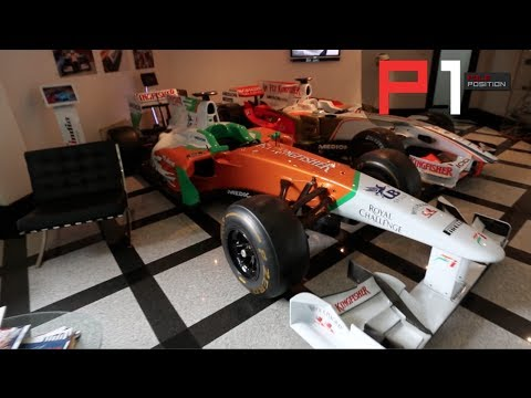 EXCLUSIVE Sahara Force India F1 Factory Tour