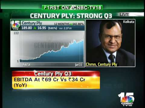 Closing Bell- CENTURY PLY Q3 - Sajjan Bhajanka, Century Plyboard
