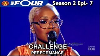 Leah Jenea Sings Focus Challenge Performance The Four Season 2 Ep 7 S2e7
