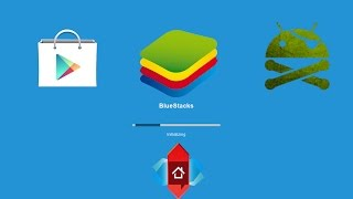 Install pre rooted bluestacks kitkat and install play store(2015)