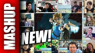 New THE LEGEND OF ZELDA: BREATH OF THE WILD Nintendo Switch  Trailer Reactions Mashup
