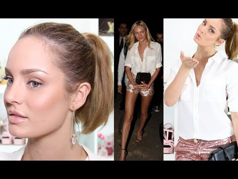 Candice Swanepoel Inspired Makeup and Outfit