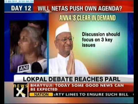 Lokpal row:Debate to follow after Pranab's statement