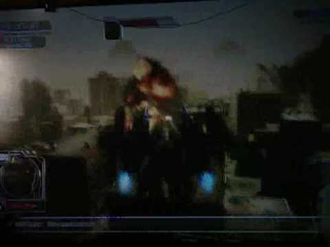 Transformers 2 The Game PS3 Powered-Up Optimus Gameplay