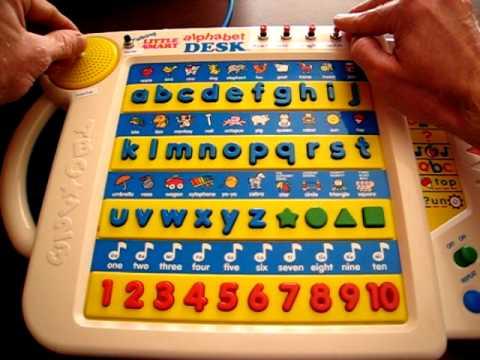Vtech Talking Little Smart Alphabet Desk Circuit Bent