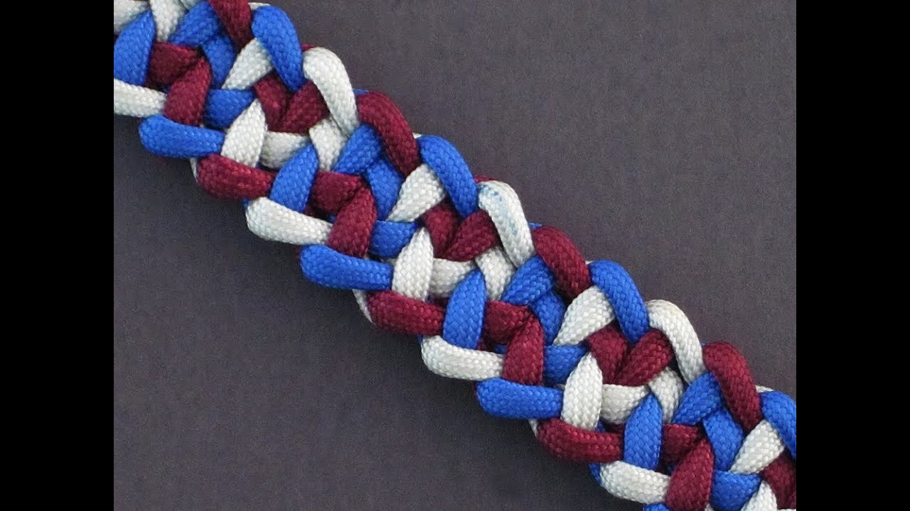How to make the jagged cacophony bar paracord bracelet for Things made out of paracord