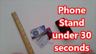 Phone Stand Under 30 seconds