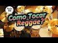 Como tocar Reggae na Bateria? Grooves Básicos