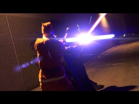 Darth Vader vs Santa Claus ft. Peppa Pig - Lightsaber Duel Star Wars Christmas