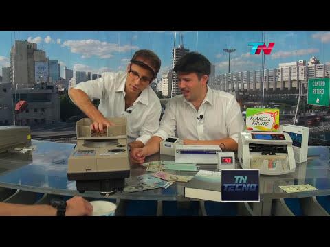 TN Tecno 222-2 Detectores de falsificaciones y contadores de billetes