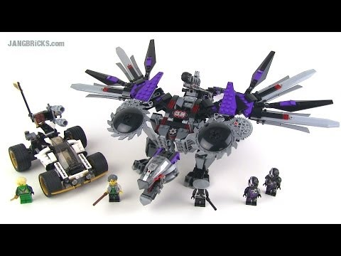 LEGO Ninjago 2014 Nindroid MechDragon 70725 Review!