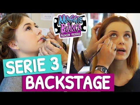 Maggie & Bianca Fashion Friends   Sul set della terza serie!