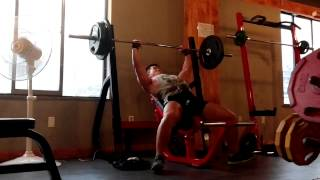 incline bench press 100kg