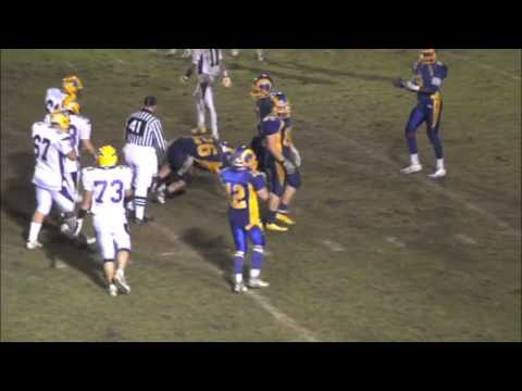 Lake Braddock vs Robinson Varsity Football 10/14/2011 (Rams Game Highlight Video)