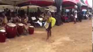 Asamoah Gyan's mum's funeral