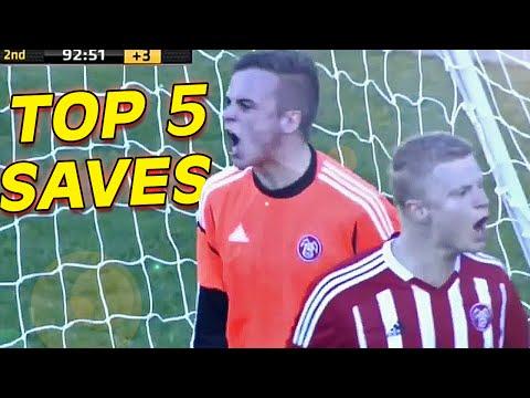 TOP 5 Best Goalkeeper Saves I WEEK #22 2014