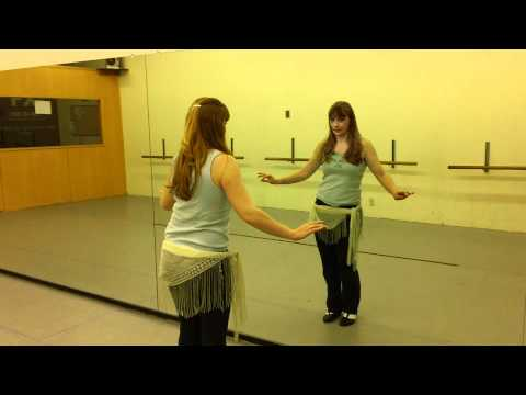 Video of Belly Dance for Beginners with Talia - lesson #3 Upward Figure 8 Move