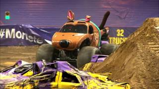 Monster Jam in Carrier Dome - Syracuse, NY 2014 - Full Show - Episode 13