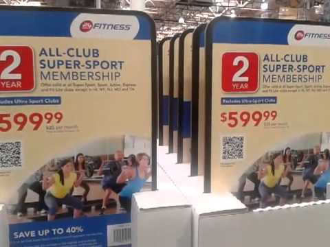 24 hour fitness all club super sport 2 year pass now available at costco youtube. Black Bedroom Furniture Sets. Home Design Ideas