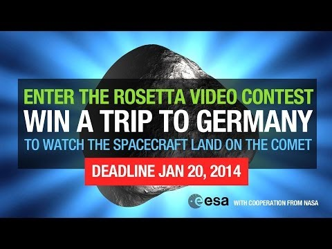 ESA's 'Wake Up Rosetta!' Video Competition
