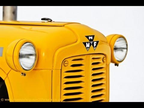 Massey Ferguson MF35 For Sale - Manchester Uk - Vintage Tractor