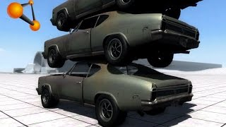 BeamNG.Drive Mod : BoneCracker flatout (Crash test)