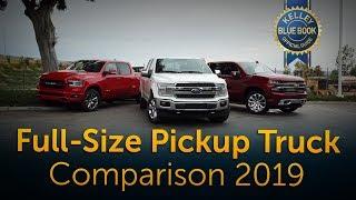 2019 Full-Size Pickup Truck Comparison