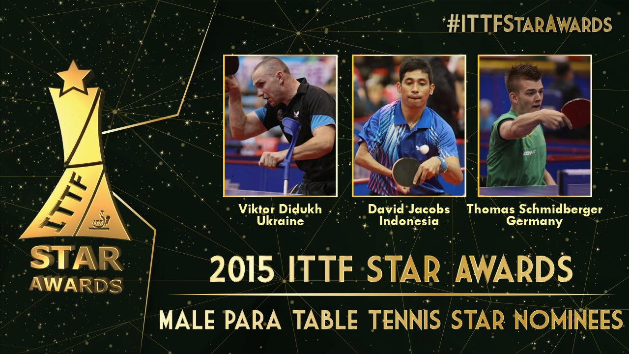Who will be the 2015 Male Para Table Tennis Star