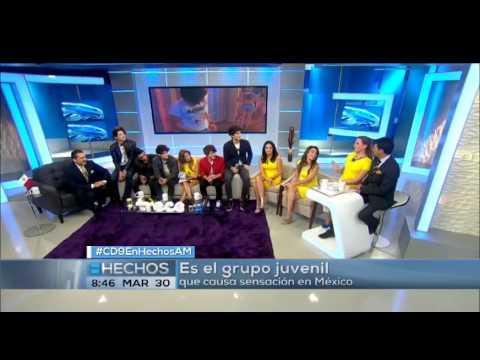 Los integrantes de la banda mexicana CD9 visitaron el estudio de Hechos AM, donde respondieron muchas preguntas.