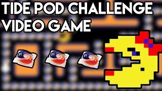 Tide Pod Challenge: The Video Game - Ms. Pac-Man Hack