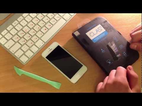 Видео как снимать стекло