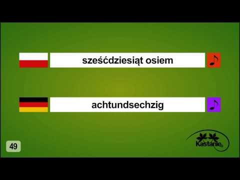 """Nauka Języka Niemieckiego - Lekcja 10 - """"Liczby Od 20 Do 100"""""""
