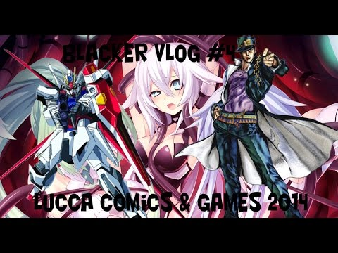 Lucca Comics 2014: Mecha, Jojo E Tentacle Rape. video