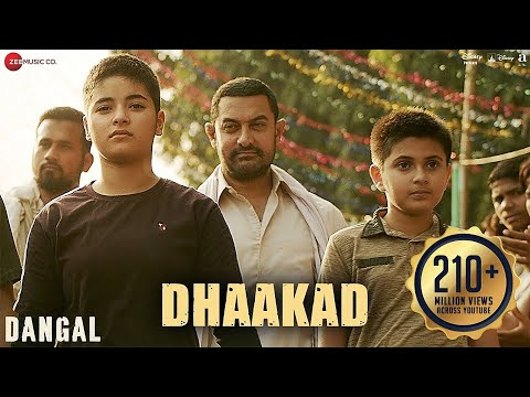 Dhaakad – Dangal | Aamir Khan | Pritam | Amitabh Bhattacharya | Raftaar thumbnail