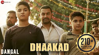 Dhaakad Video Song HD Dangal | Aamir Khan, Pritam, Amitabh Bhattacharya, Raftaar